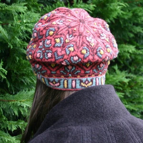 Fair Isle Allamanda Hat Knitting Patterns