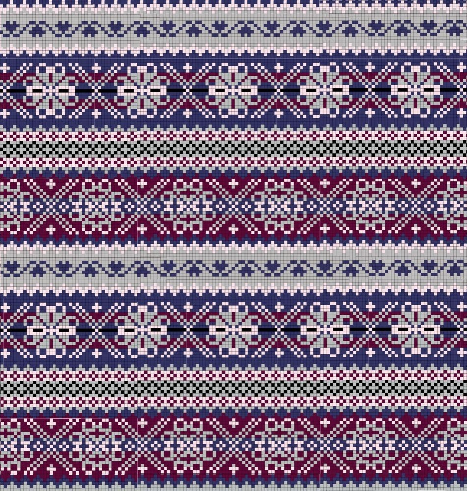 Fair Isle Knitting Pattern
