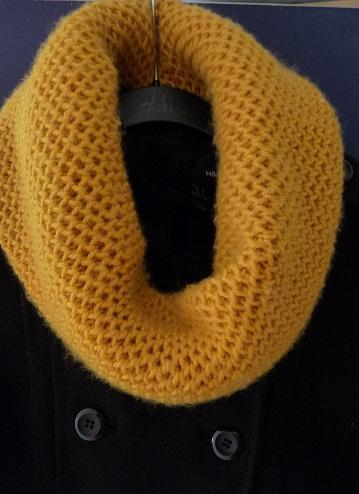 Honeycomb Cowl Knitting Pattern