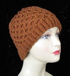 Honeycomb Hat Knitting Pattern