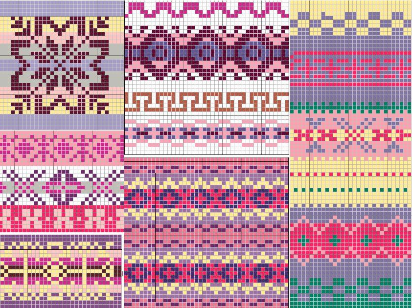 Image of Fair Isle Knitting Pattern