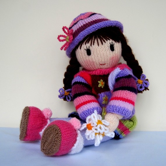 Knitted Doll Patterns Tutorial