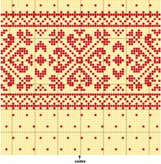 Picture of Fair Isle Knitting Pattern