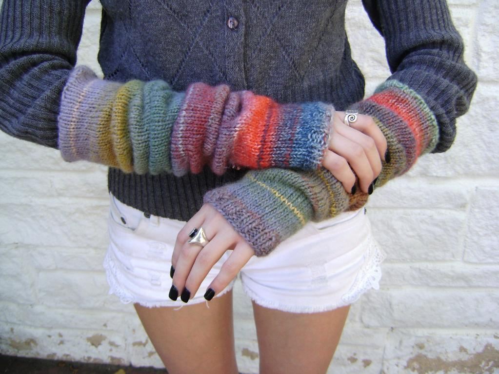 Arm Warmers Knitting Patterns