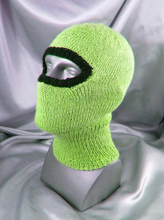 Images of Biker Balaclava Hat Knitting Pattern