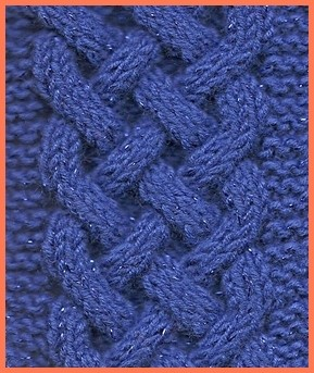 Celtic Plait Cable Knitting Pattern