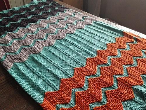 Chevron Baby Blanket Quilt Pattern