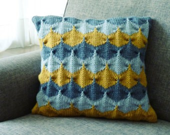 Chevron Pillows Knitting Pattern