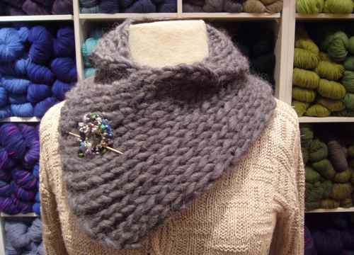 Pictures of Cozy Neck Warmer Knitting Pattern