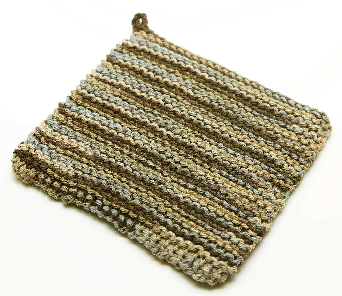 Double Knit Pot Holder Pattern Photos