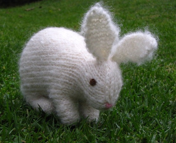Easter Bunny Rabbit Knitting Pattern