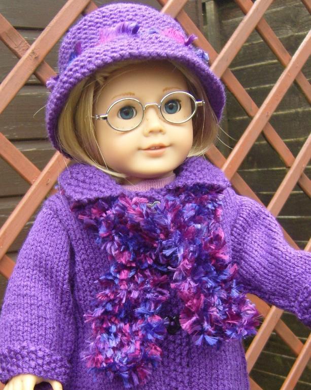 Free American Girl Doll Scarf Knitting Pattern
