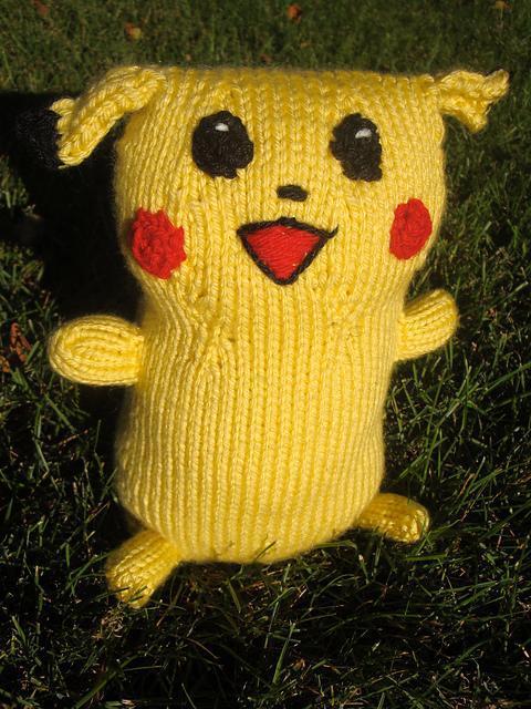 Free Amigurumi Pikachu Knitting Patterns