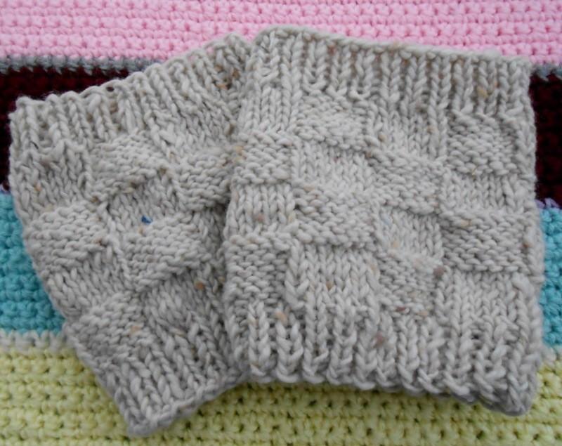 Free Boot Cuff Knitted Pattern