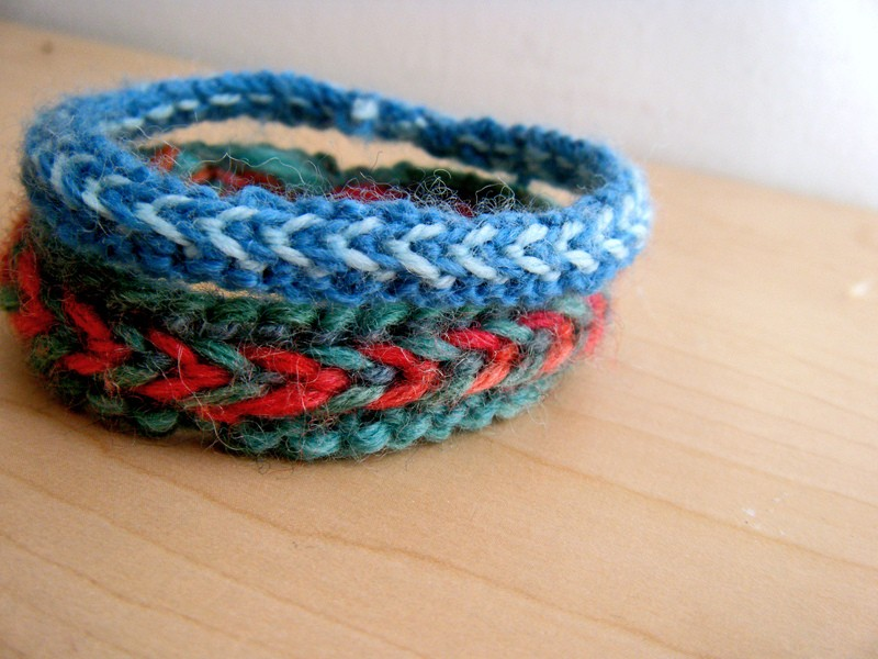 Free Bracelet Knitting Pattern
