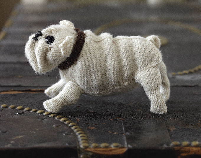 Free Dog Animal Knitted Pattern