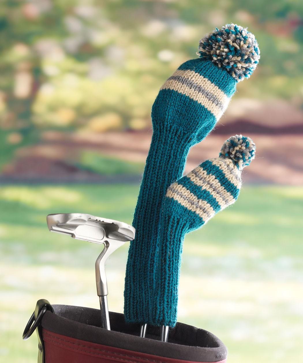 Free Golf Club Head Covers Knitting Pattern