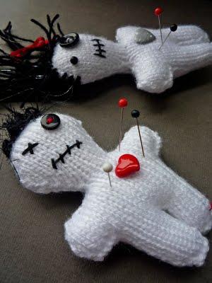 Free Halloween Voodoo Doll Knitting Pattern