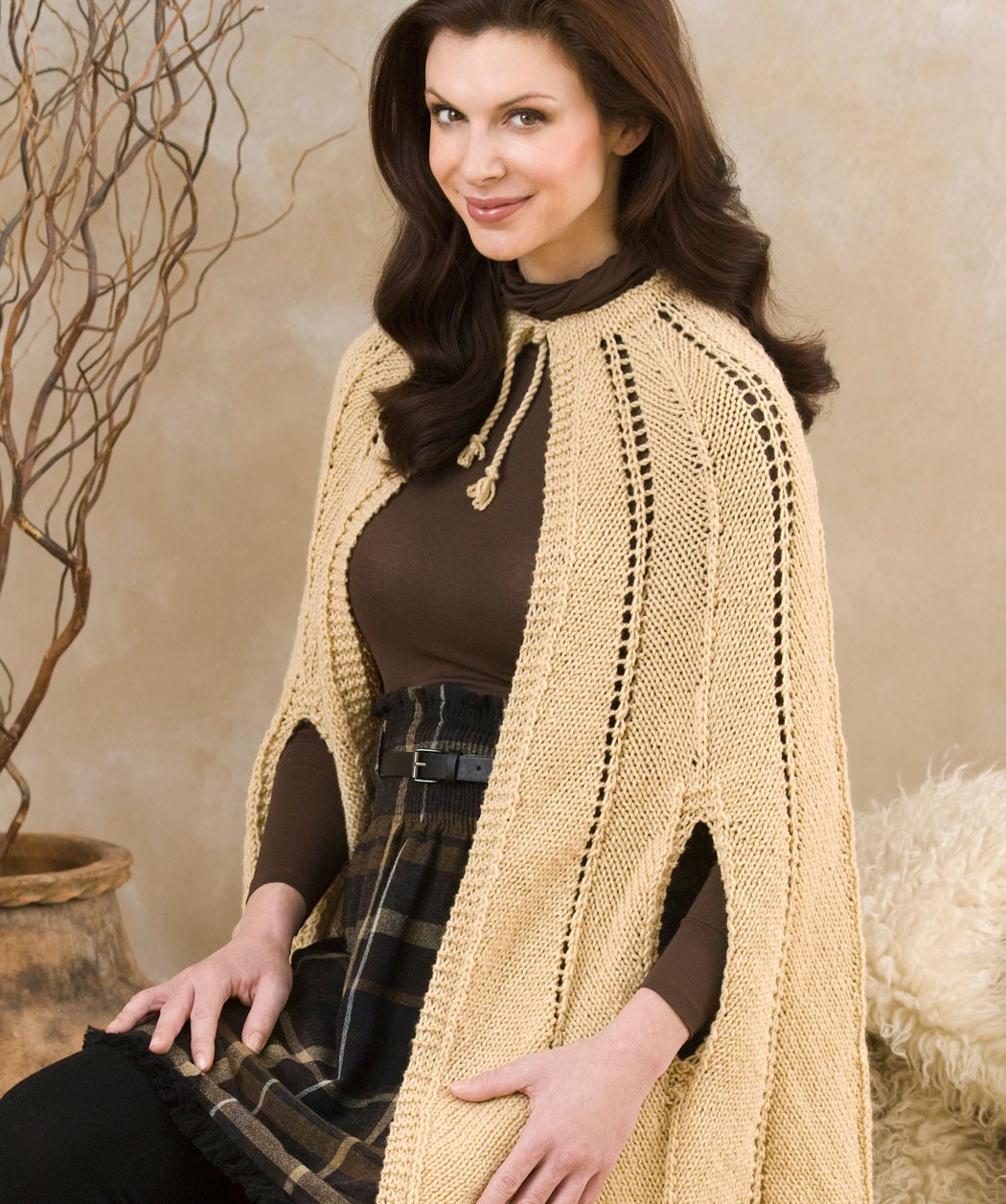 Free Knitted Cape Pattern
