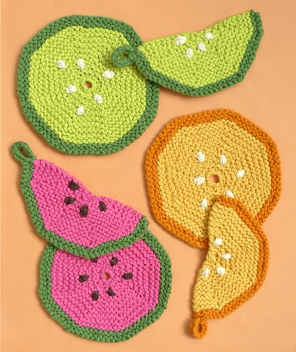 Free Pot Holder Knitted Pattern