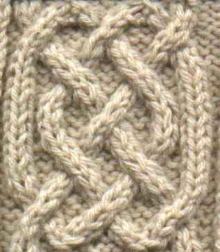 Free Simple Celtic Cable Knitting Pattern