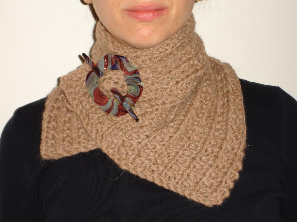 Free Simple Neck Warmer Knitting Pattern