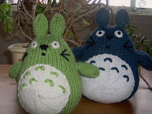 Free Totoro Knit Pattern