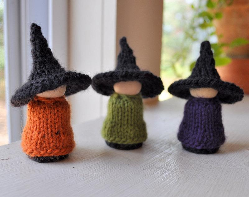 Halloween Witches Knitting Patterns