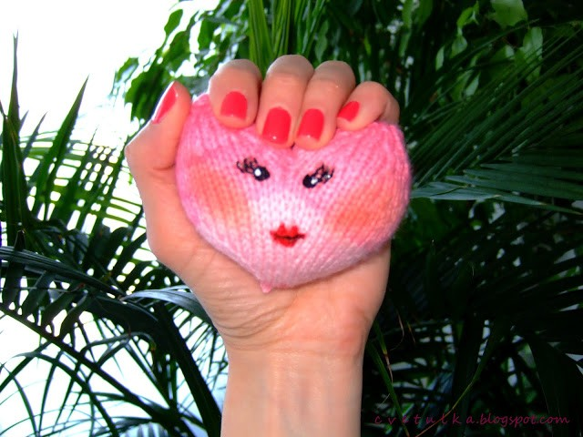 Heart Knitted Pattern Picture