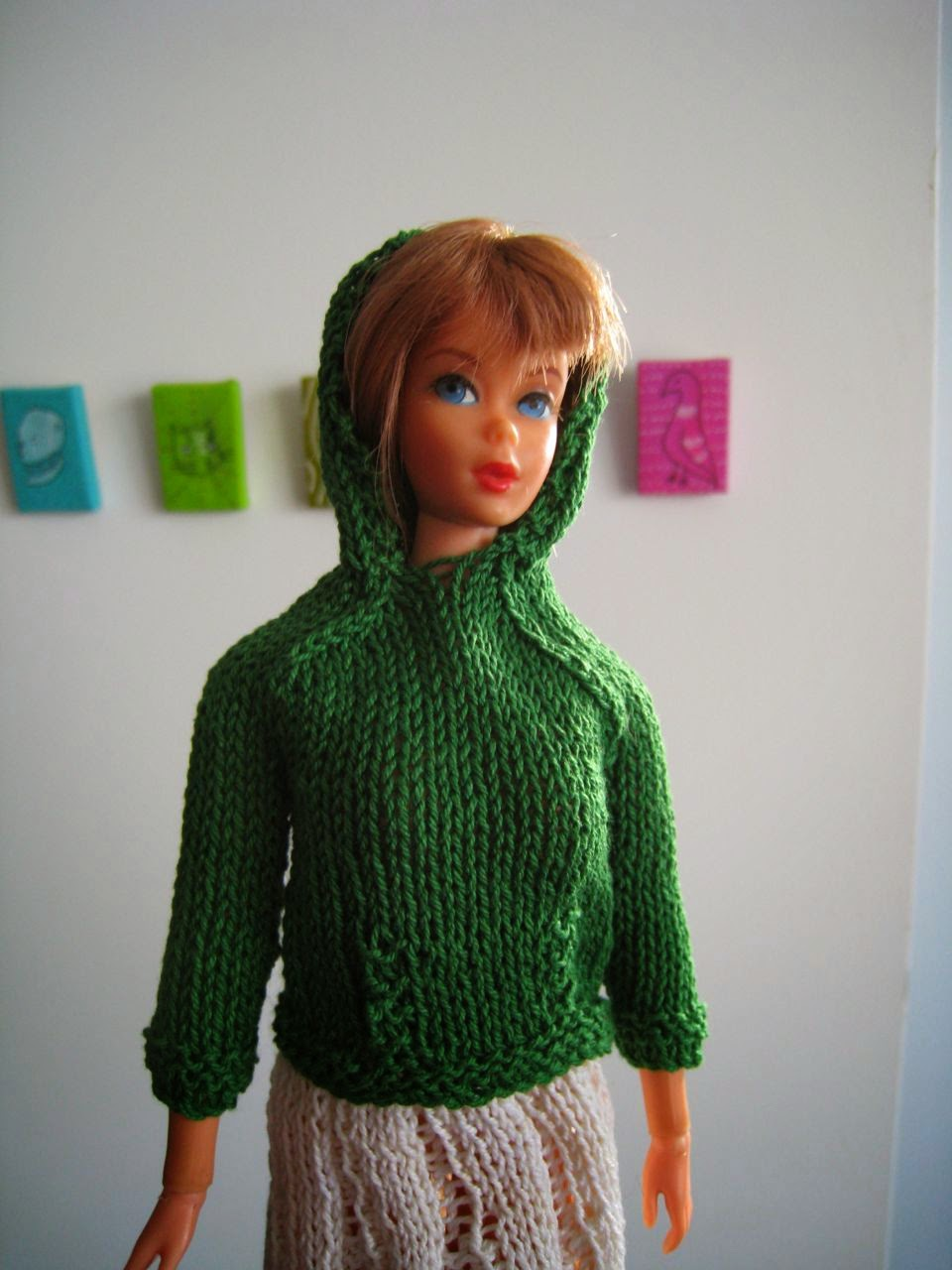 Images of Hooded Barbie Doll Knitting Pattern