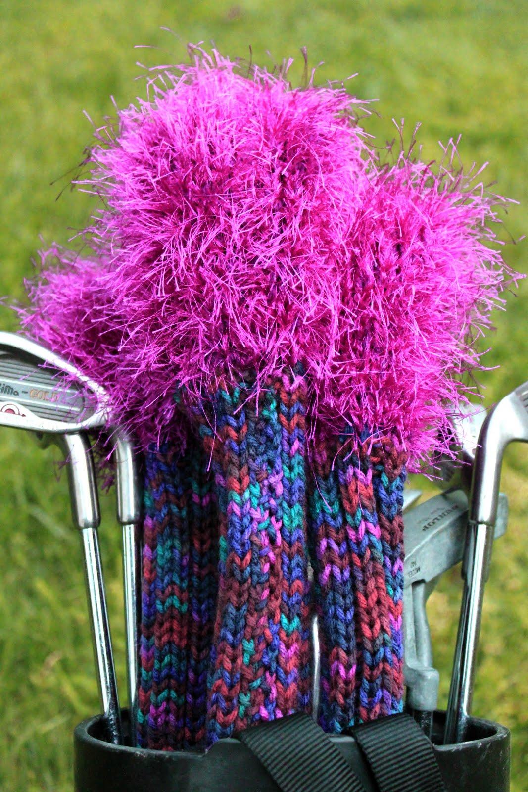 Knit Golf Head Covers Pattern