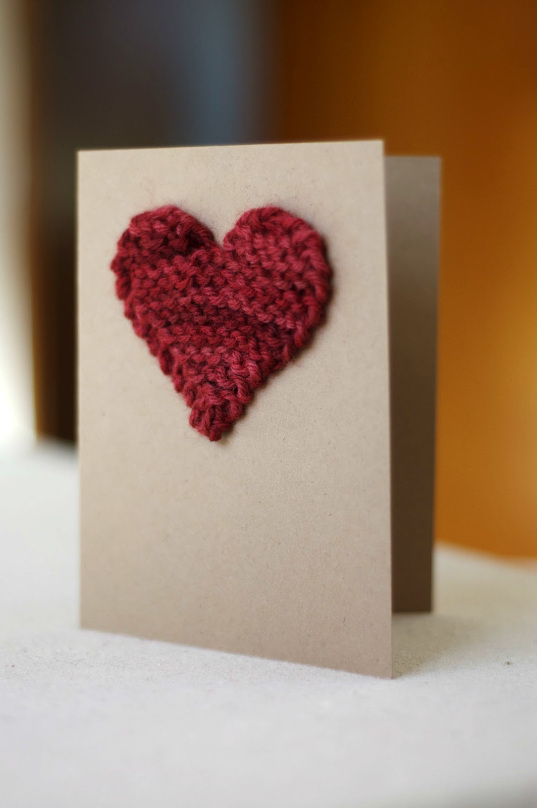 Knitted Heart Pattern
