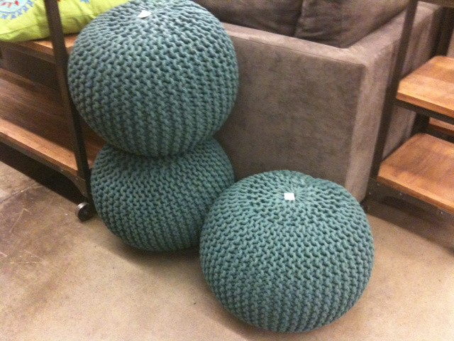 Knitted Pouf Patterns