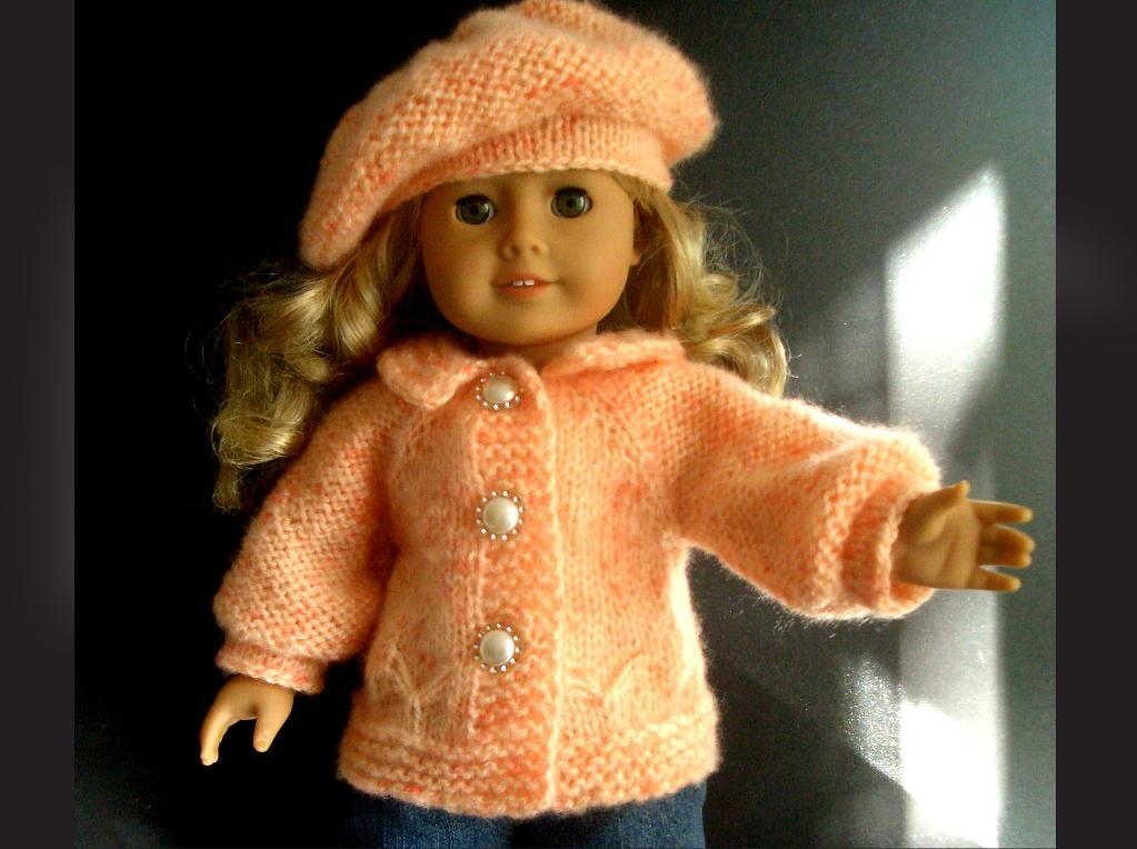 Knitting Pattern American Girl Doll
