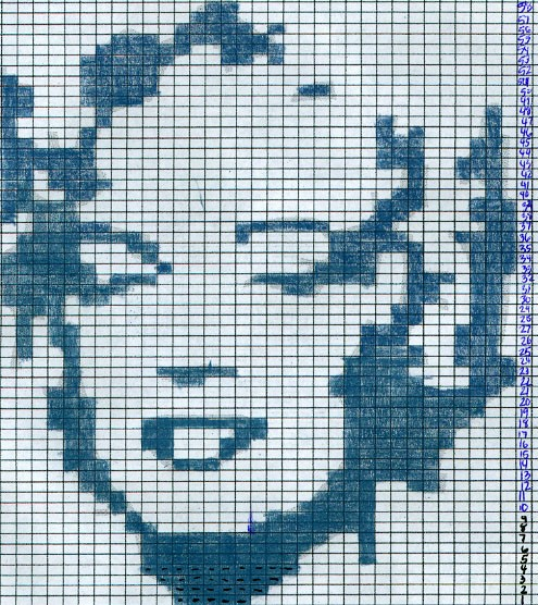 Marilyn Monroe Intarsia Knitting Patterns Picture