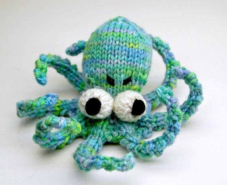Octopus Amigurumi Knitting Pattern