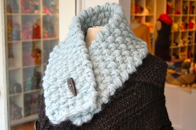 Pebble Neck Warmer Knitting Patterns