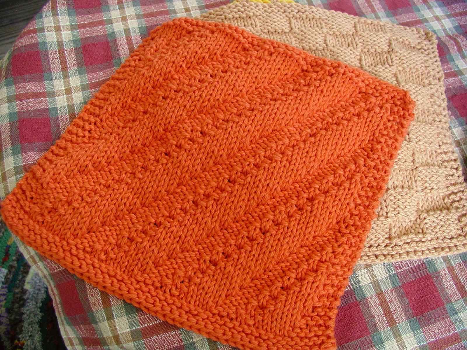 Pot Holder Knitting Pattern