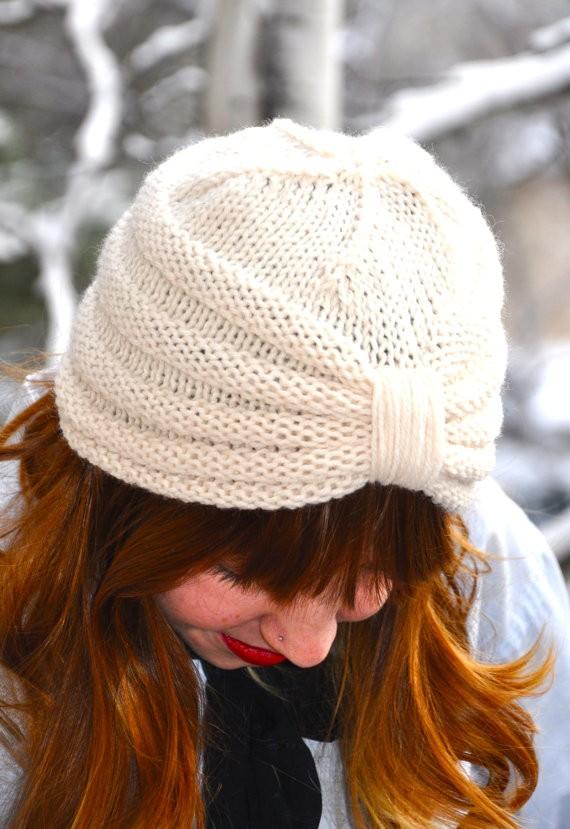 Purl Knitting Turban Pattern