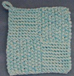 Quick Knit Pot Holder Pattern