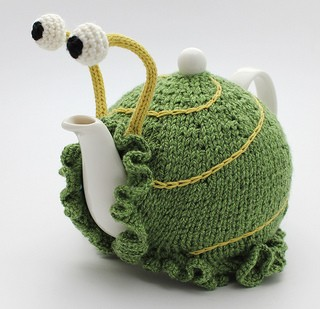Snail Tea Cozy Knitting Pattern