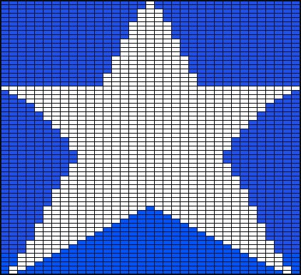 Star Intarsia Knitting Patterns