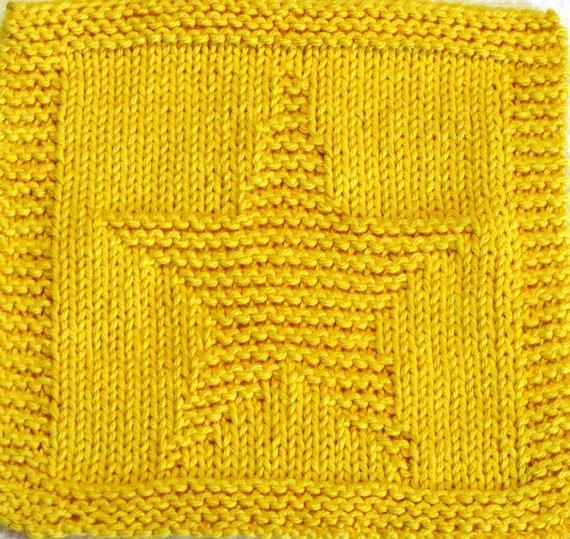 Star Knitting Pattern Design