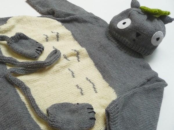 Totoro Baby Set Knitting Pattern