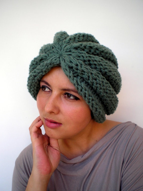 Turban Knitted Hat Pattern