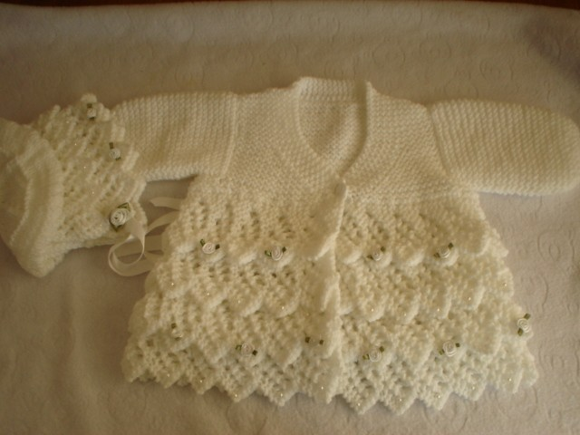 Baby Clothes Knitting Pattern