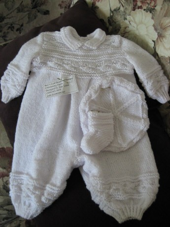Baby Knitted Clothes Pattern