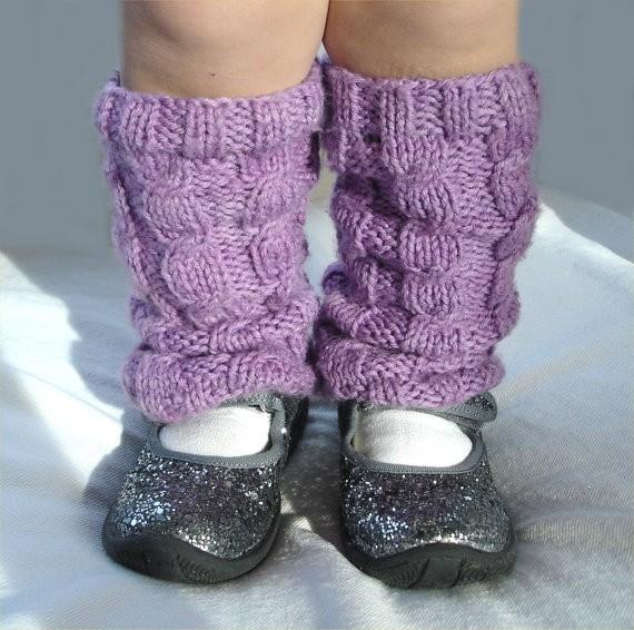 Baby Leg Warmer Cable Knitting Pattern