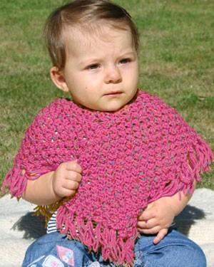 Baby Poncho Knitting Patterns