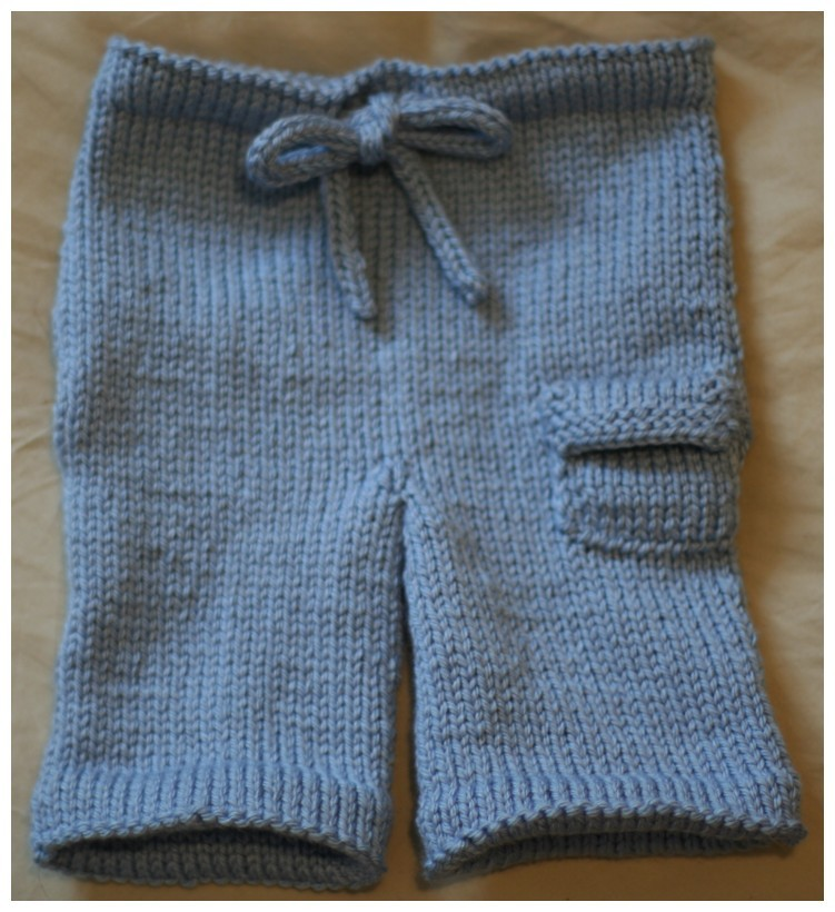 Free Knit Baby Clothes Pattern